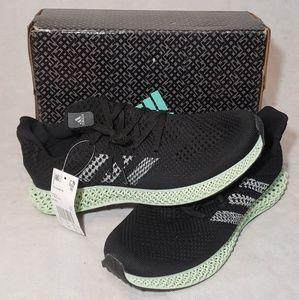 Adidas futurecraft 4D black ash grey size 11 shoes